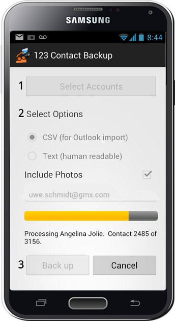 Application de rencontre android
