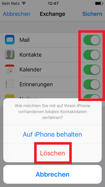 Iphone S Mit Outlook Synchronisieren