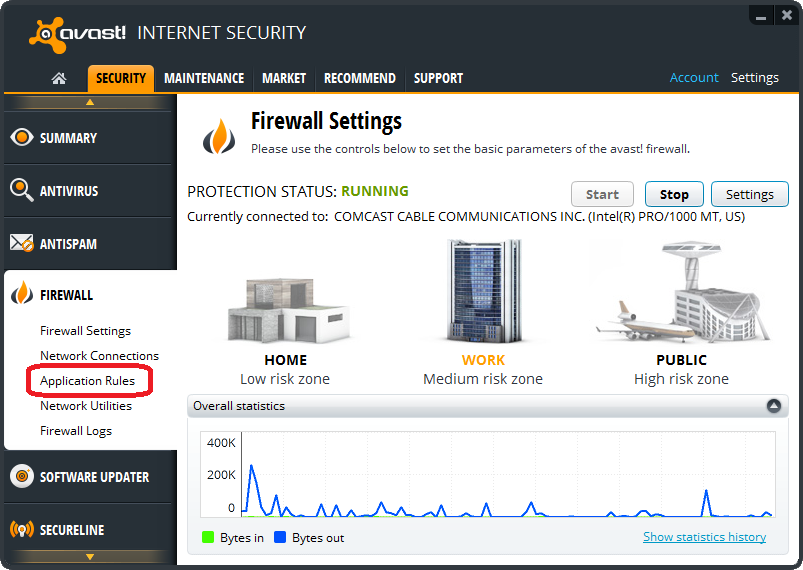how to delete avast security