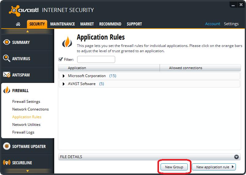 Avast internet security 5 1 899