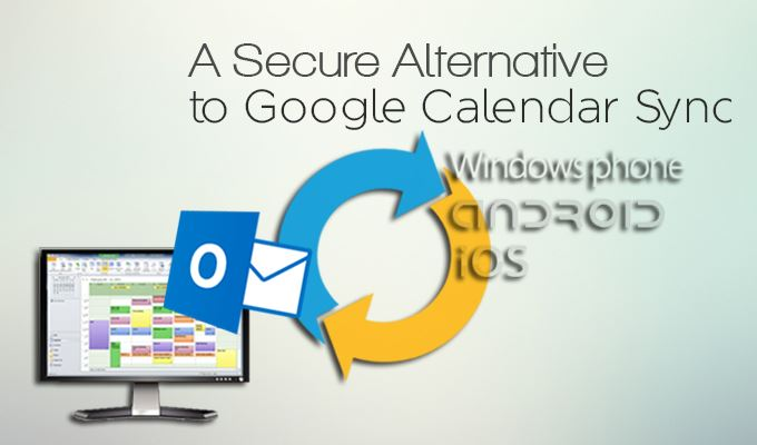 Google Calendar Sync Replacement for Outlook