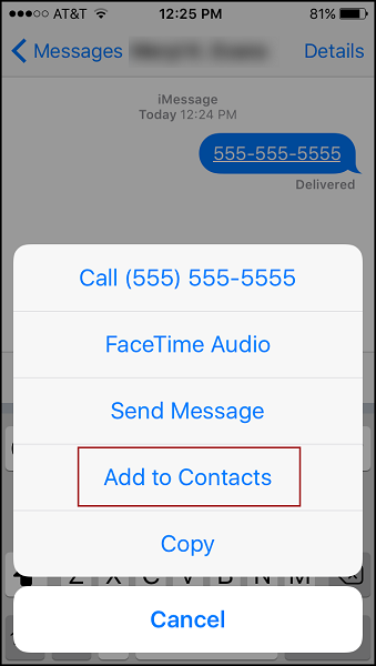 how to backup contacts iphone