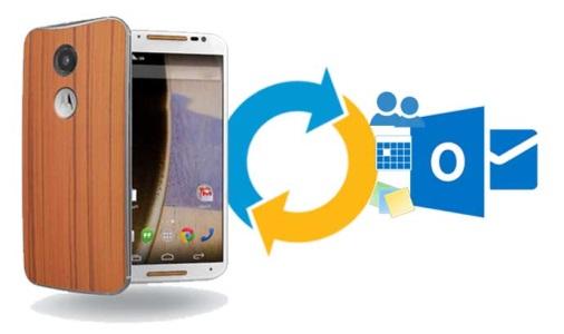 How to Sync Motorola Moto X with Microsoft Outlook | Akruto