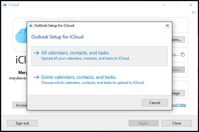 icloud for windows 7 professional