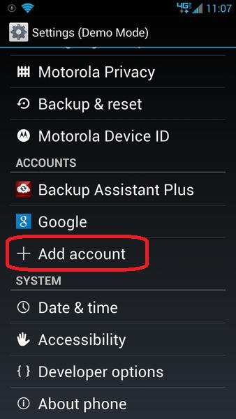 Sync Motorola Droid RAZR with Outlook : AkrutoSync