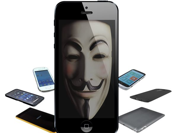 Mobile phones online privacy