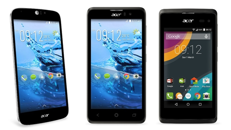 Acer devices
