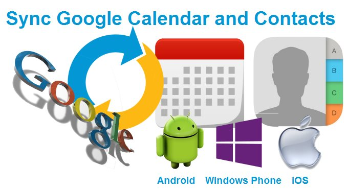 Sync Google Calendar and Contacts