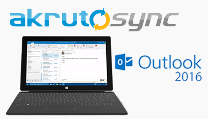 Sync Microsoft Outlook 2016 with your phone
