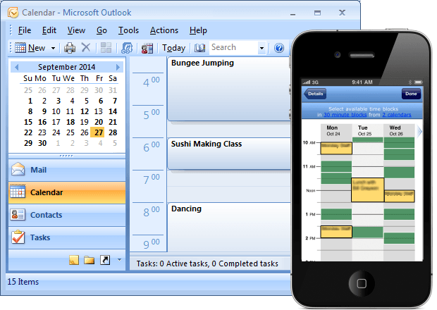 sync outlook email with iphone sync outlook calendar with android and other devices akruto 18060