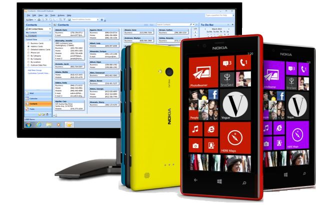 Sync Windows Phone with Outlook