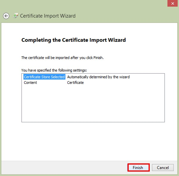 How to Import an SSL certificate in Windows | AkrutoSync