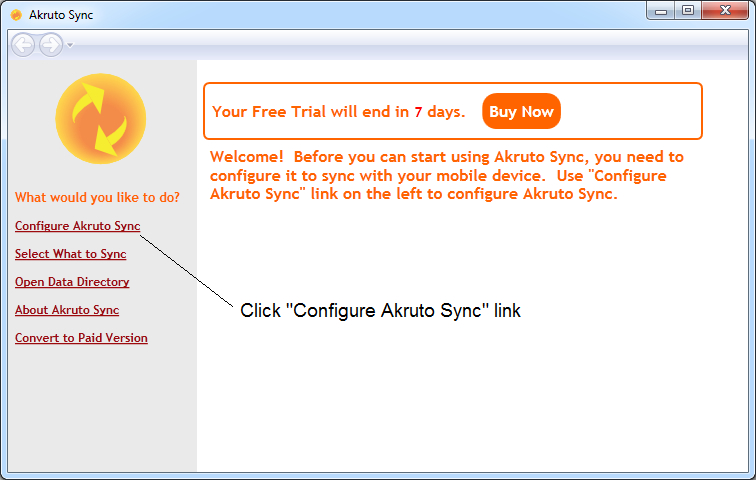 Sync Outlook with Windows Phone using Akruto Sync